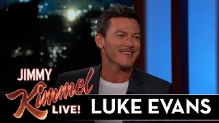 Luke Evans Sang with an Eight-Fingered Pianist