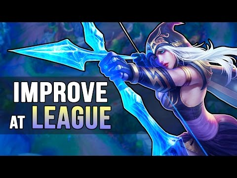 How to Teach Yourself to be Good at League of Legends
