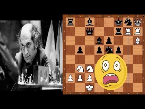 Mikhail Tal sacrificing ALL his pieces – from pawn to queen!
