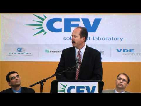 CFV Solar - Ribbon Cutting Ceremony, Albuquerque, New Mexico, USA