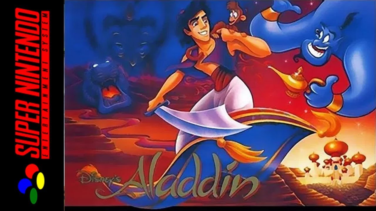 Image result for aladdin SNES