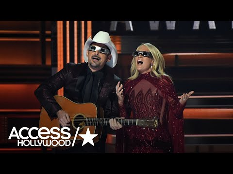 Michael J. - Carrie Underwood will HOST the CMA Awards this year WITHOUT BRAD PAISLEY
