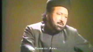 Allama Nasir-Ul-Ijtehadi: Shahadat Hazrt Ali (A.S) / Majlis Sham-e-Ghariban Raza-e-Ilahi. PTV 1984