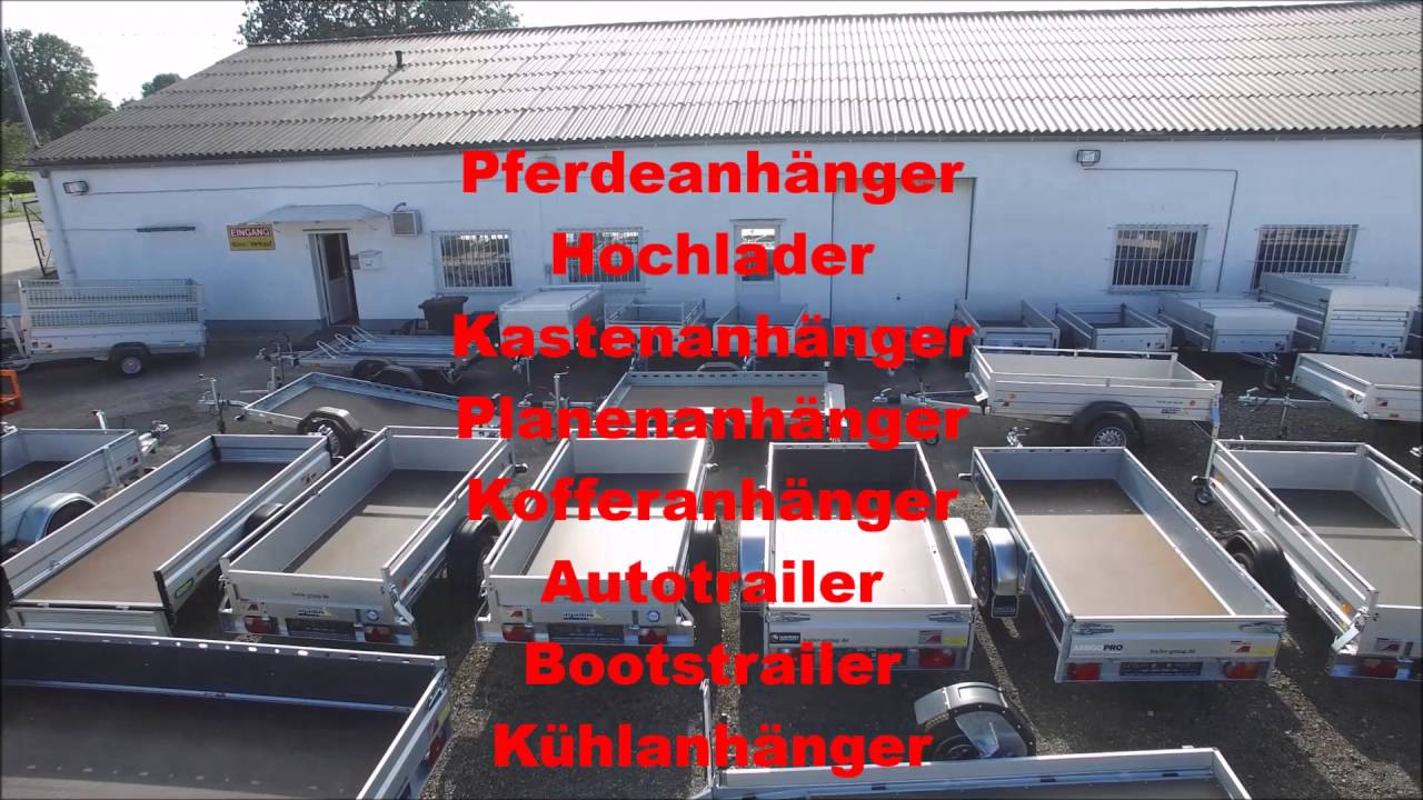 Pkw Anhänger Bremen : pkw anh nger center ahrens in stuhr bei bremen imagefilm ~ Watch28wear.com Haus und Dekorationen