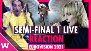 Eurovision 2021: Live reaction to Semi-Final 1 Qualifiers | wiwibloggs