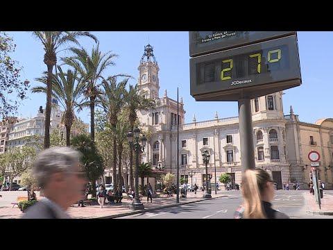 València llega hoy a los 28 grados