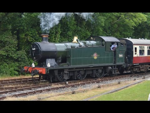 Bodmin & Wenford Railway Blue Timetable Monday 6th June 2016