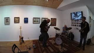 Brian Kastan-fretless bass, Eric Person-sax, Bob Meyer-drums