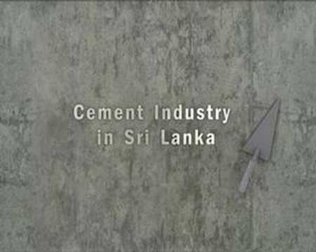 Trailer - Cement Industry in Sri Lanka