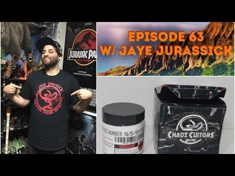 Jurassic Park Collecting, Customizing & Art w/ Jaye Jurassick + News!