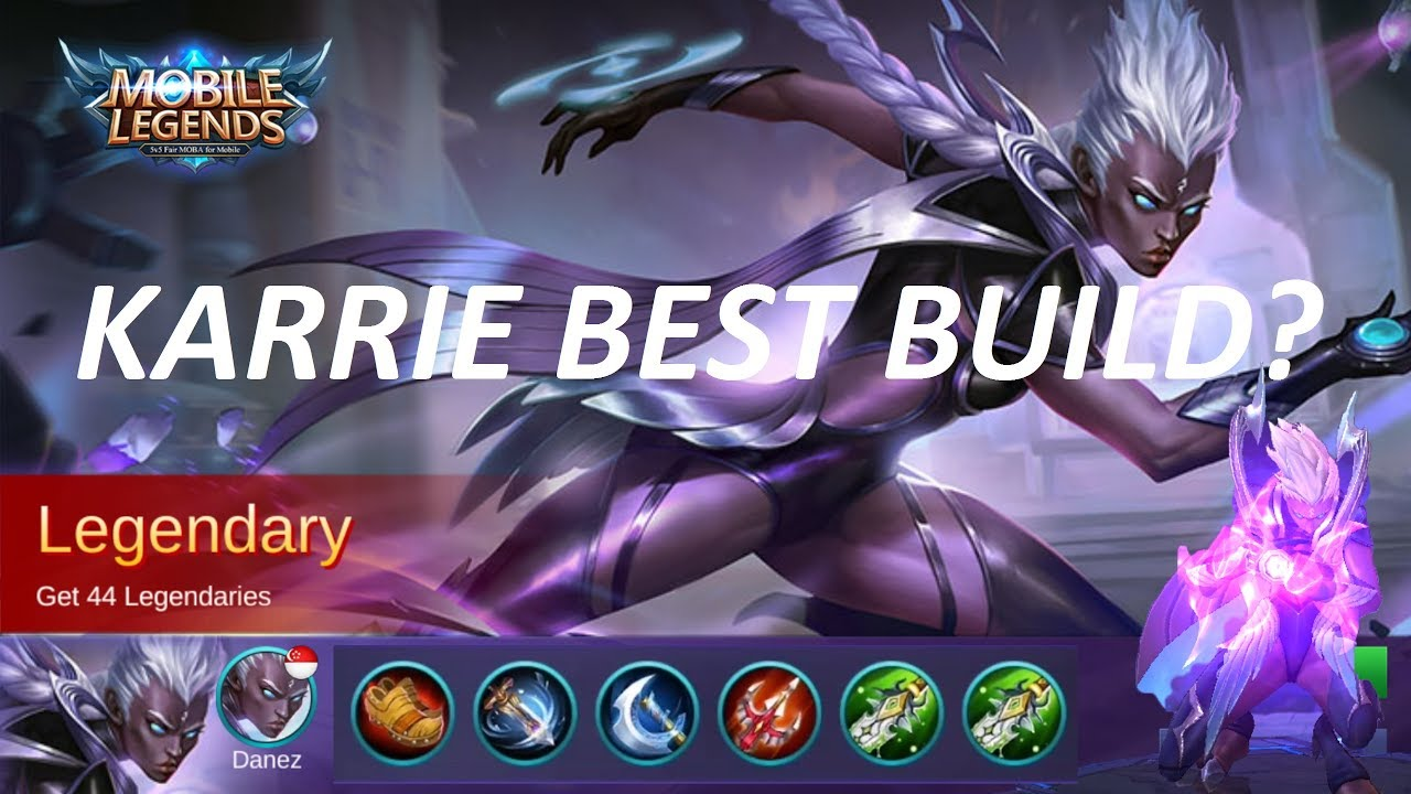Mobile Legends Karrie Best Gear