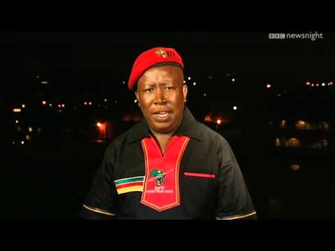NEWSNIGHT: Julius Malema - South Africa's president-in-waiting?