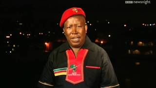 NEWSNIGHT: Julius Malema - South Africa