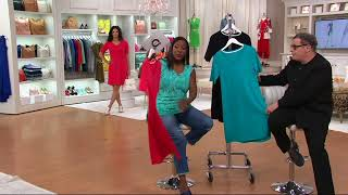 Isaac Mizrahi Live! Essentials Pima Cotton Dress on QVC