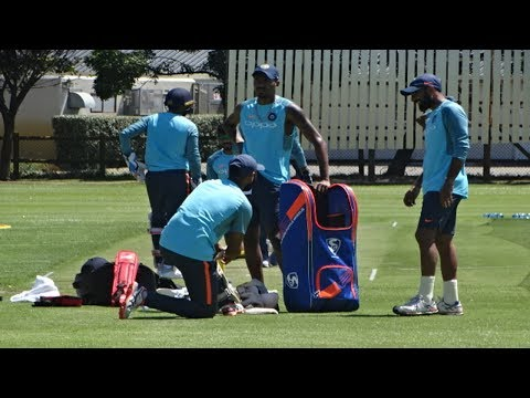 Watch: Team India's first training session from Cape Town | India Tour of South Africa