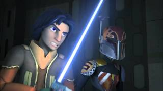 Star Wars Rebels Season 2 Episode 4 - Always Two there are Footage