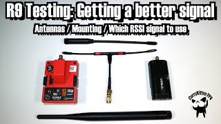 Improving the signal on the R9M/R9M-lite and R9MM RX combo