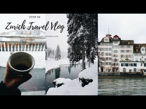 Stop #6 Zurich | Solo Travel Vlog