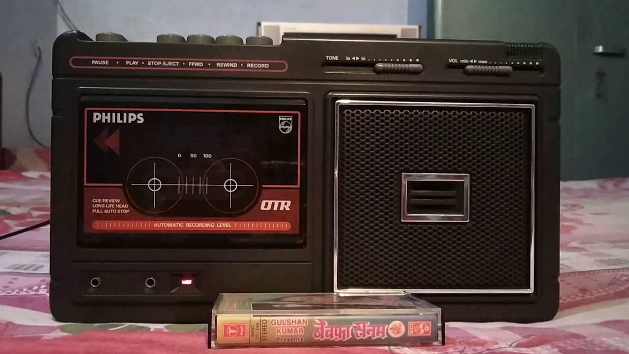 Download Tujhe Bhoolna To Chaha Lekin Bhoola Na Paye (From-Hits Of Attaullah Khan)-Played On Cassette Player.