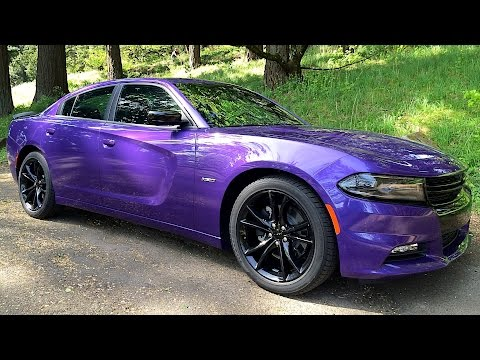 2016 Dodge Charger R/T Blacktop – Review & Test Drive