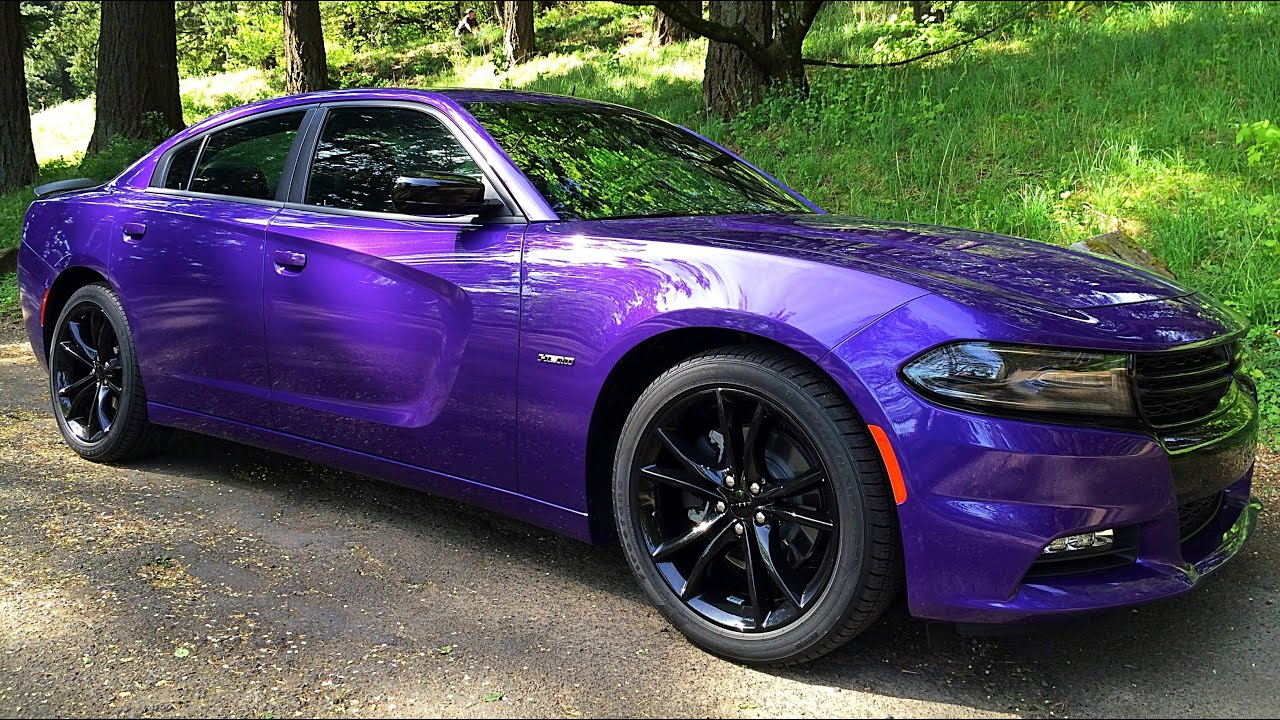 2016 Dodge Charger R T Blacktop Review Test Drive