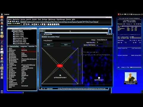 Lazarus + Python =  Anonymer  SSL Webbrowser  [Demo Testprogramm für Programmierer]