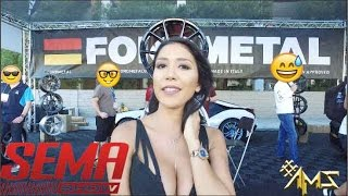 Sema 2016 Girls, AMS-TV New Season Hot Models Hot Cars Hot Brands.