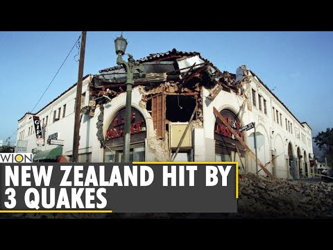 New Zealand hit with 3 earthquakes in span of 8 hours   Latest World News   English News   WION