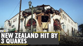 New Zealand hit with 3 earthquakes in span of 8 hours | Latest World News | English News | WION