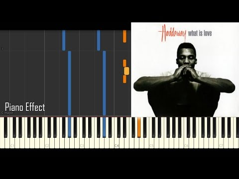 Haddaway - What Is Love (Piano Tutorial...