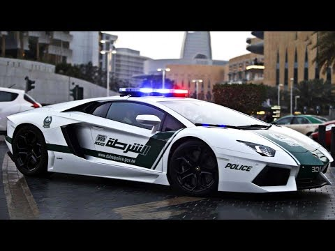 The Dubai Police Force Will Blow Your Mind