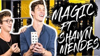 MAGIC TRICKS WITH SHAWN MENDES!