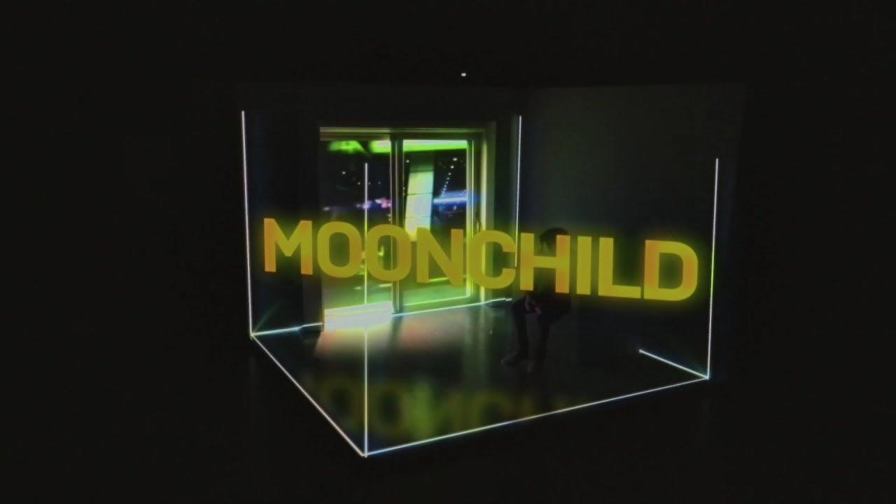 RM 'moonchild' Lyric Video - YouTube