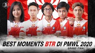 BTR RA Best Moments Grand Final PUBG PMWL EAST - CONGRATS BTR! #INDOPRIDE!!