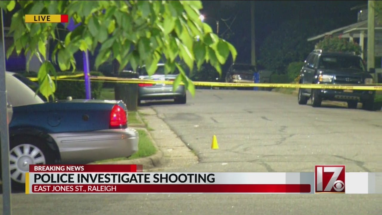 1 wounded in shooting just east of downtown Raleigh