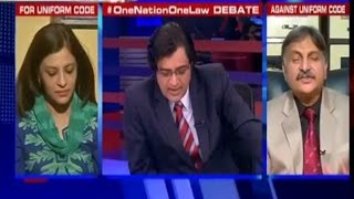 Muslims Should Not Believe In CrPc and IPC Says Shazia Ilmi