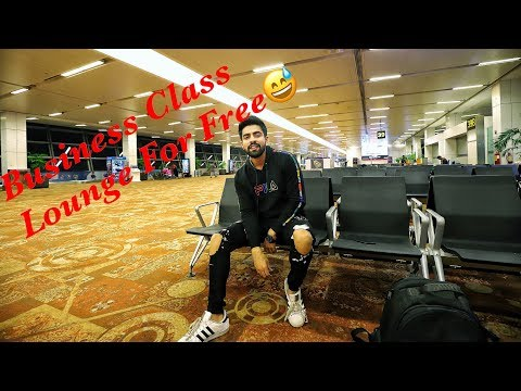 FREE Business Class Lounge | DELHI TO GOA | Airport Secrets