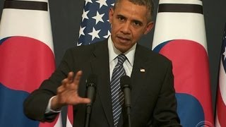 Pres. Obama talks Russian sanctions with European leaders