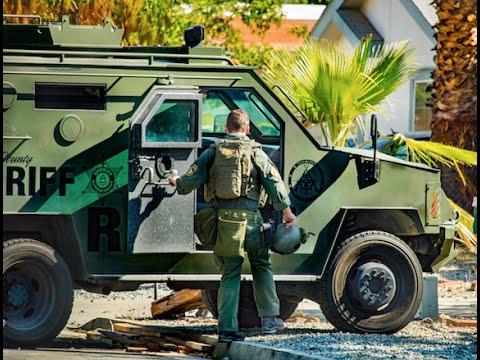 Valle Vista, CA: SWAT Team Raids Home on Germaine Lane