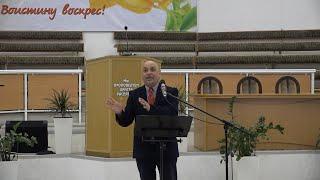 """Разбор Священного Писания 21 апреля 2021 года. Церковь ЕХБ """"Преображение"""" г. Сарань."""