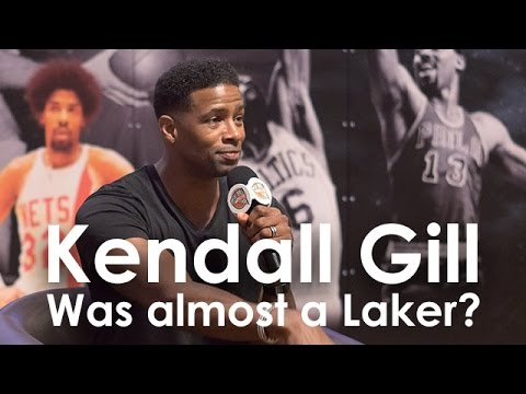 Kendall Gill was almost a Laker?