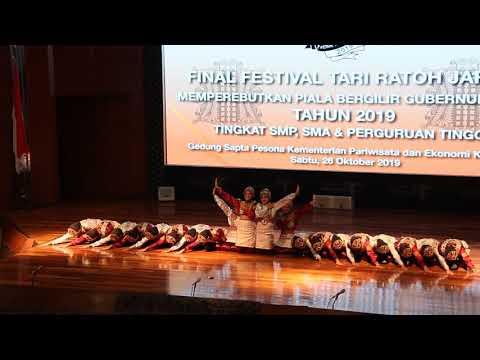 Ratoh Jaroe SMAN 12 Tangerang Selatan @Final Piala Bergilir Gubernur Aceh Tahun 2019