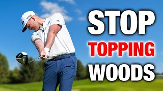 Stop TOPPING Your Woods!   CRUSH Your 3 Wood From The Fairway!   ME AND MY GOLF