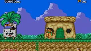 The Flintstones demo gameplay Sega Genesis / Mega Drive