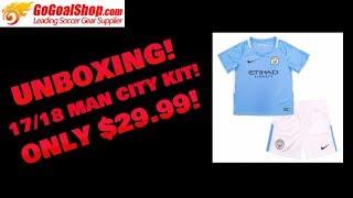 Gogoalshop.com Manchester City Jersey Unboxing