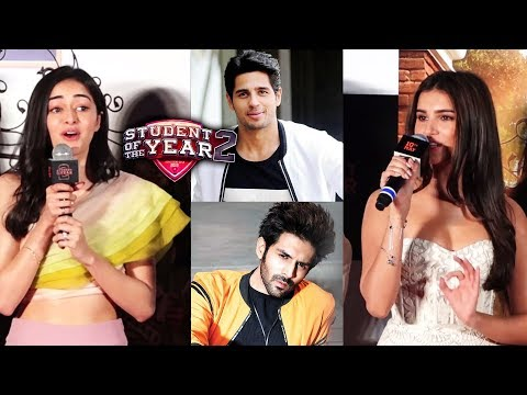 Tara Sutaria & Ananya Pandey Talk About Their Link Ups   Student of The Years 2
