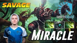 Miracle Troll Savage Warlord [LIQUID vs OG] Dota 2