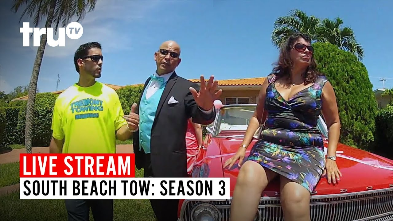 Download Watch FULL EPISODES of South Beach Tow: Season 3 | LIVE STREAM | truTV