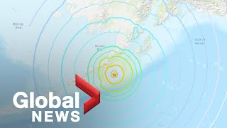 Tsunami sirens sound in Alaska after 7th largest earthquake in US history hits off coast