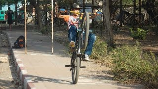 MTB STUNT INDIA  (FROM KANPUR )bycycle stunt